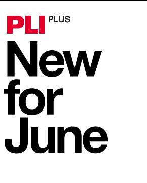 What's New on PLI PLUS