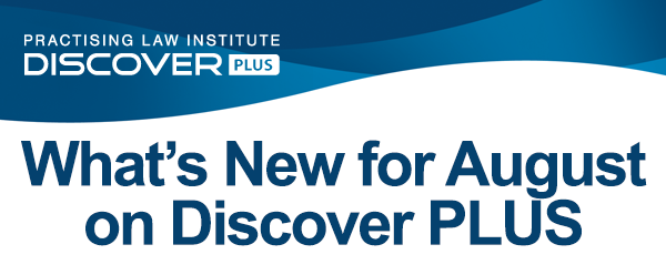 What's New for August on Discover PLUS