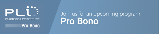 Join us for an upcoming program - Pro Bono
