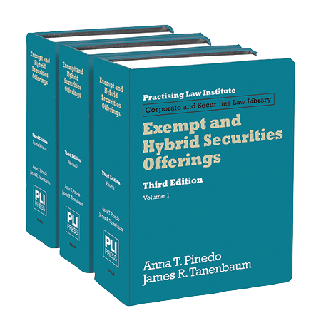 Exempt and Hybrid Securities Offerings (3rd Edition)