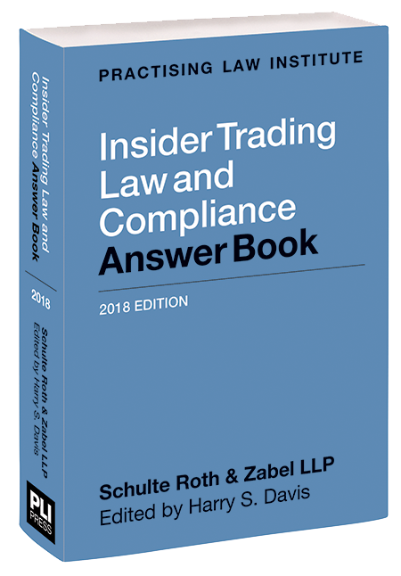 PLI: Treatises - Insider Trading Law and Compliance Answer Book ...
